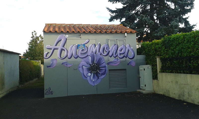 Embellissement poste de transformation